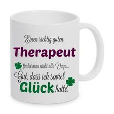Einen guten Therapeut... Tasse Kaffeetasse Kaffeebecher Geschenk Weihnachten
