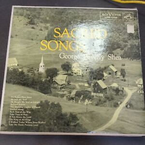 Record Album George Beverly Shea Sacred Songs LP VG