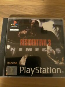 Resident Evil 3 - Nemesis Ps1 Spiel