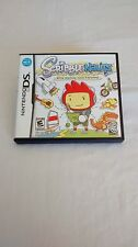 Scribblenauts for Nintendo DS  Rated #21 Best DS Game of 2009  -  FREE SHIPPING