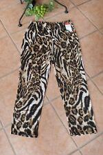 MAGNA Leggings Hose 52 54 NEU Leo Tiger Animal Print braun Stretch LAGENLOOK