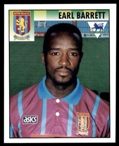 Merlin Premier League 95 Earl Barrett Aston Villa No. 31
