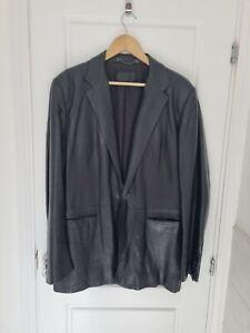 Mens prada leather jacket