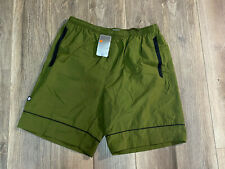 New listing NEW Vintage 2000s Nike Green Spellout Swoosh Shorts Swim Trunks Logo Lined 2XL