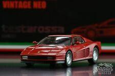 [TOMICA LIMITED VINTAGE NEO 1/64] Ferrari testarossa (Late version)
