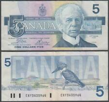Canada, 5 Dollars, 1986, VF+++, P-95