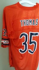 CHICAGO BEARS ATHONY THOMAS FOOTBALL JERSEY SIZE LARGE REEBOK