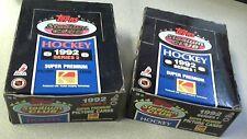 1992-93 Topps Stadium Club Hockey Series 1 & 2 Box Combo