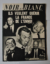 NOIR et BLANC No.1239 French Magazine 1968 Roger Nicolas/Marie-Ange Anies France