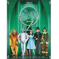 The Wizard of Oz DVD (70th Anniversary 4 Disc Emerald Edition) Multi-region!!!