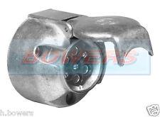 HEAVY DUTY 12N 7 PIN CARAVAN TRAILER TOWING TOWBAR METAL ALUMINIUM PLUG SOCKET