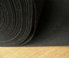 Noir Poids Moyen non Tissé Thermocollant à Repasser Entoilage Vendu au Mètre