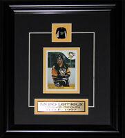 Mario Lemieux Pittsburgh Penguins Reproduction Rookie Card NHL Hockey Frame