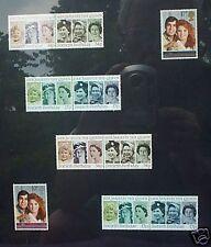 British Stamps for English Royal Wedding & HRH 60th