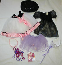 Toddler Girl 10 Piece Princess Witch Halloween Pretend Dress Up Costumes Sz 2-3T
