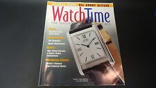 Fall 2002 Watch Time magazine special issue on Citizen watches Japan Eco-drive