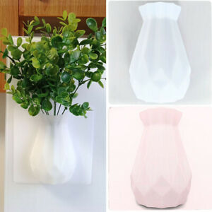 Wall Mounted Minimalist Home Decor Seamless Modern Stick On Magic Silicone Vases
