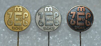 Boxing European Championship Munchen 1976 vintage pin badge set Anstecknadel