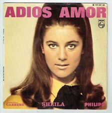 """SHEILA Vinyle 45 tours 7"""" EP ADIOS AMOR 15é Disque - PHILIPS 437.347  F Reduit"""