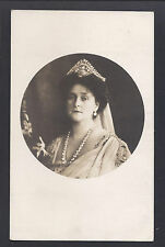 Antique Imperial Russian Photo Postcard of Empress Alexandra of Russia