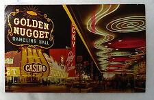 POSTCARD GOLDEN NUGGET GAMBLING HALL CASINO LAS VEGAS NEVADA #C89