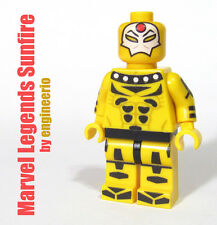LEGO Custom - SUNFIRE Legends - Marvel Superheroes daredevil X-men torch