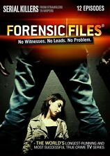 Forensic Files Serial Killers 2 Disc DVD Set 12 Episode Crime TV Series Show Doc