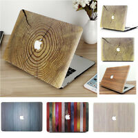"""6 Colors Wood Pattern Hard Case Cover for Macbook Pro13""""/ Retina Pro 13"""" M1 Chip"""