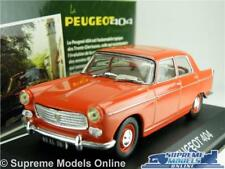 PEUGEOT 404 MODEL CAR 1:43 SCALE IXO ATLAS RED SALOON FRENCH K8