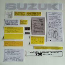 Suzuki SJ 413 / samurai decals