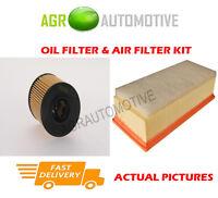 DIESEL SERVICE KIT OIL AIR FILTER FOR PEUGEOT EXPERT 2.0 163 BHP 2009-