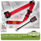 Front Automatic Seat Belt For Armstrong Siddeley Sapphire 234 Berlina 56-58 Red