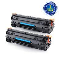 2PK CE285A 85A Toner Cartridge for HP 85A LaserJet P1102W M1217nfw MFP