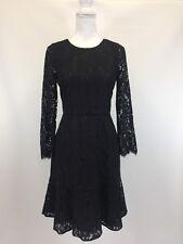 J Crew New Black Lace Dress Party Cocktail Size 2
