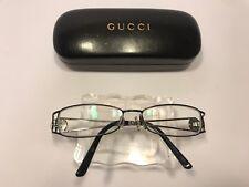 bc0ce42b06 Gucci GG 2824 LTV EYEGLASSES FRAMES 53-15-130 Black Gold Rectangle KV89