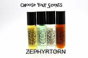 Auric Blends Perfume Roll Ons Wicca 1/3 OZ - ((Pick & Choose))