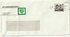 1966 Luxembourg oversize cover sent from BP Luxembourg