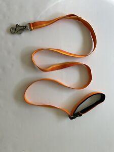 Ruffwear Flat Out Adjustable Dog Leash Orange 6 ft