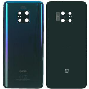 Original Huawei Mate 20 Pro LYA-L29 Akkudeckel Backcover Twilight Akzeptabel
