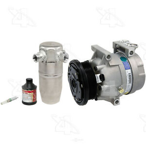 A/C Compressor - New- With Kit   Factory Air   1404NK