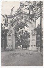 Arc des Franco-Américains Congrès Eucharistique MONTREAL Quebec 1910 Morissette