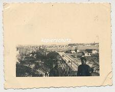 Foto Polen Wehrmacht Soldaten-Brücke Ort ? 2.WK (565)