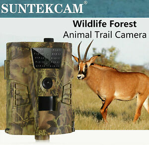 Outdoor Hunting Trail Camera 12MP 1080P Night Vision Wildlife Camera Scouting IR