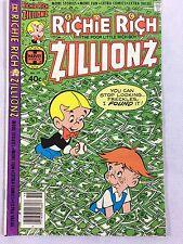 Richie Rich Zillionz #19 Nearmint White Pages Collectible Cartoon Harvey