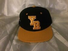 Young & Reckless SnapBack Cap Black & Yellow
