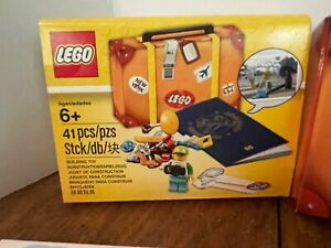 Lego 6178090 or 5004932 Travel building suitcase 41 pieces 2017 promotional