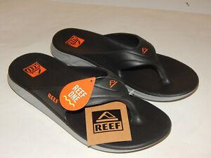 Reef One Waterproof Men's Flip Flop / Sandals /Shoe/Slides Grey Sizes 8 thru 12