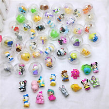 50Pcs/lot Ball Capsule Toys Plastic Mini Figure Dolls Kids Gift New toy