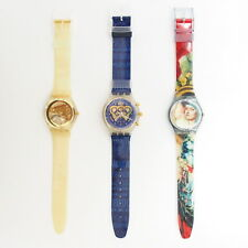 Swatch GN170 THE LADY & THE MIRROR / GZ115 GOLDEN JELLY / SCZ101 I.O.C. Set#1