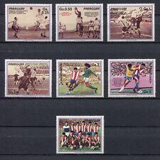 s6115) PARAGUAY 1986 MNH** WC Football'86 - Coppa Mondo Calcio 7v.